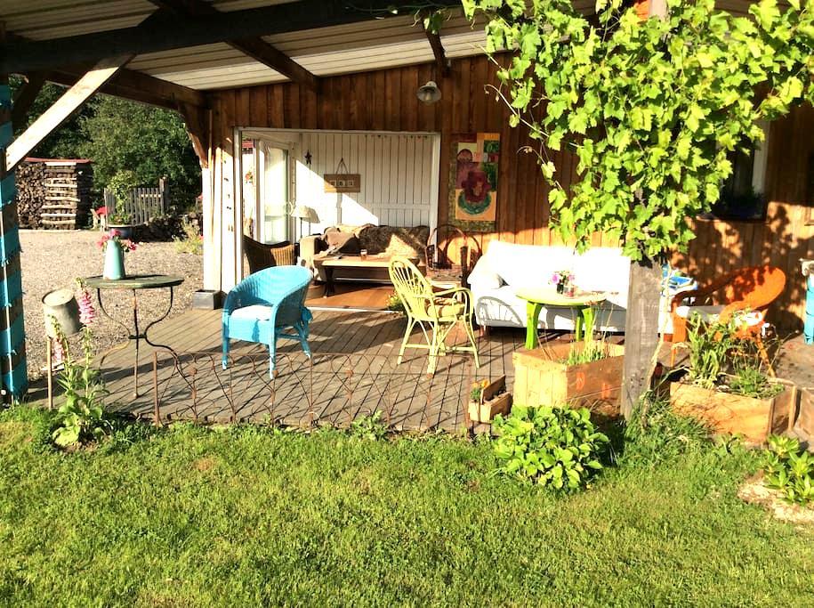 La cabane/chevaux/perche90mn Paris - Marchainville - Casa