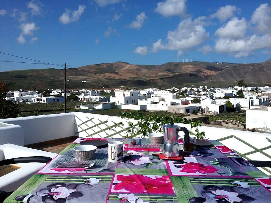 Lanzarote, quiet rural location great views - Guatiza - Hus