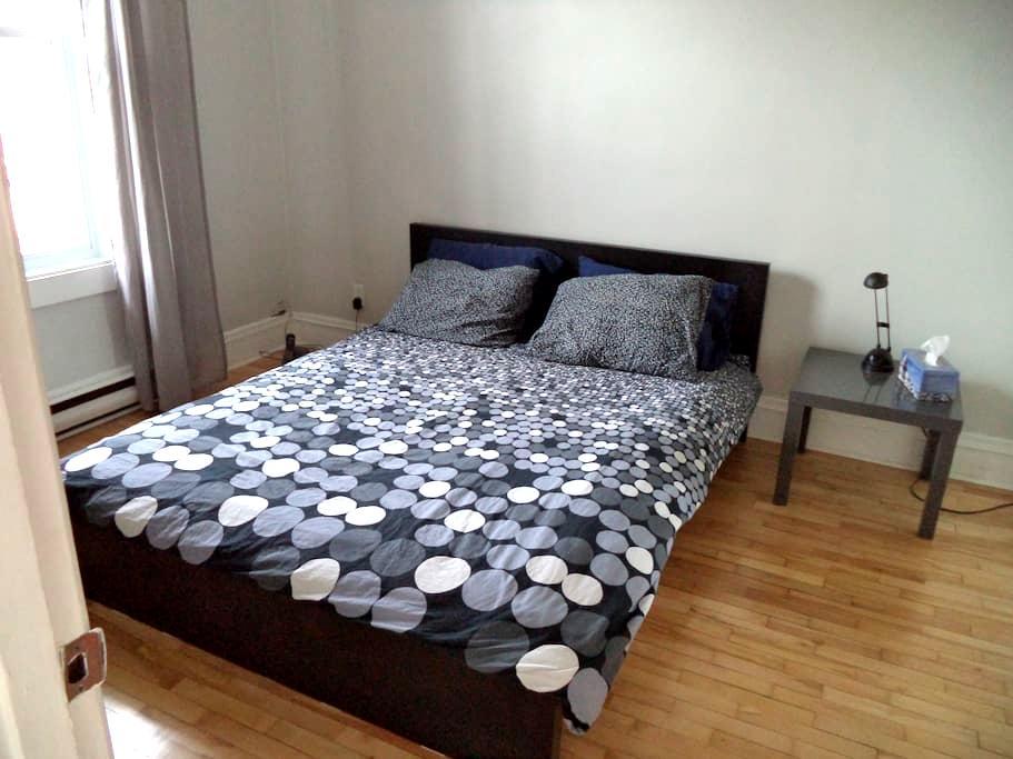 Chambre claire et confortable - Montréal - Apartmen