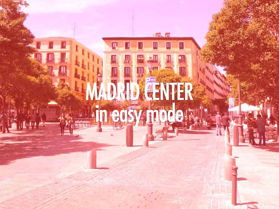 MADRID CENTER - Lavapiés - No cleaning fee - Madrid - Apartment