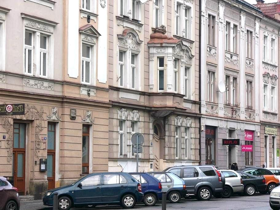Two separate bedrooms in two bedroom apartment - Hradec Králové - 公寓
