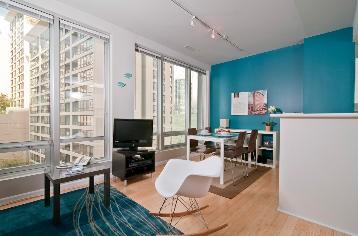 Modern Charm in Downtown Vancouver