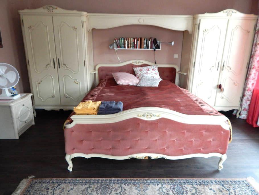 Romantisches Zimmer im grünen Herzen Dithmarschens - Nordhastedt - อพาร์ทเมนท์