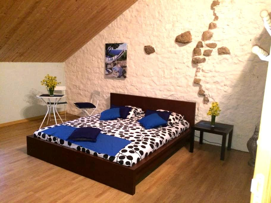 Chambre de 25 m2 dans grande maison - La Quarte - Hus