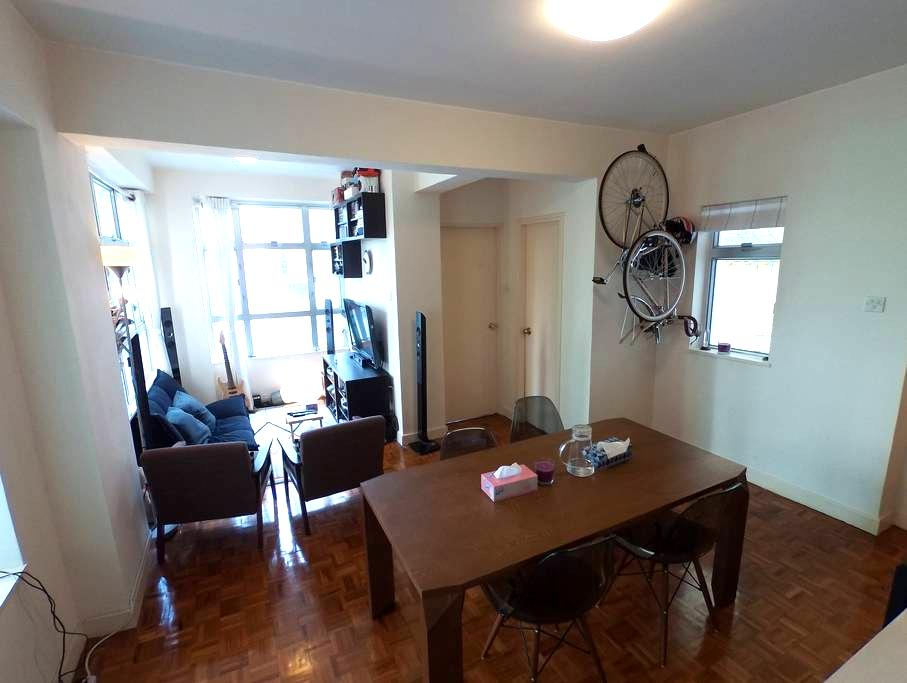 Cozy 1bedroom flat central midlevel - mid level - Apartmen