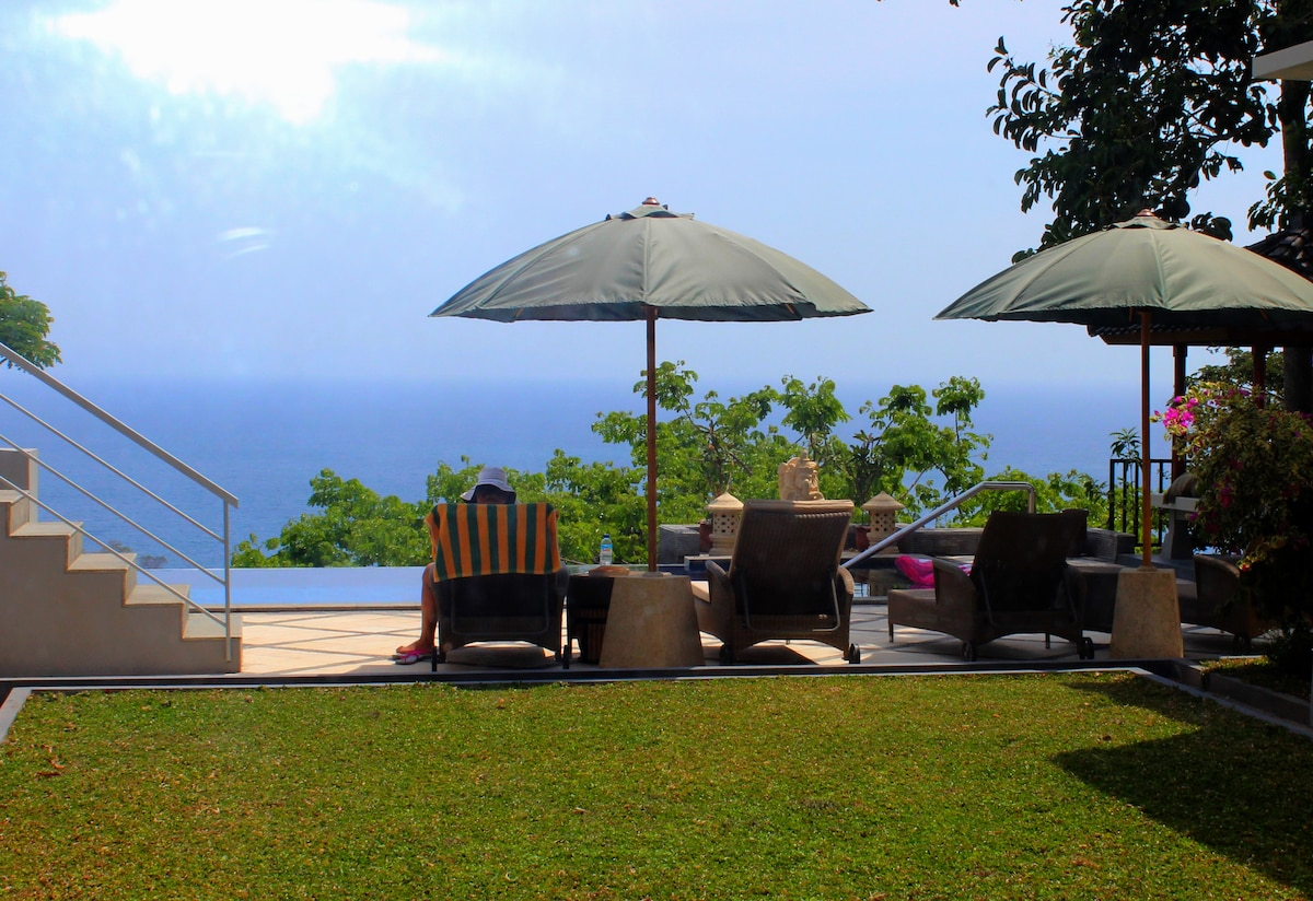 Double Room in villa with SeaView