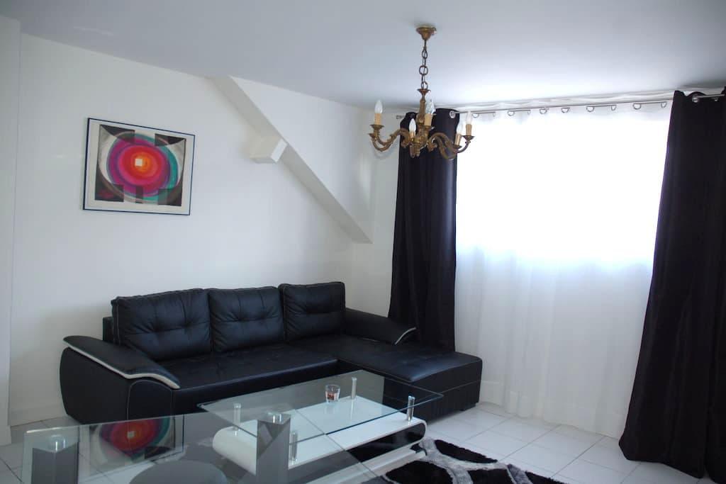 Gite F3  2* ️Vue mer Centre ville - Saint-Valery-en-Caux - Apartamento