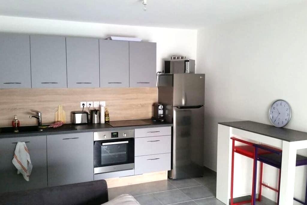 Appartement T2 dans résidence neuve - Saint-Julien-en-Genevois - Apartament