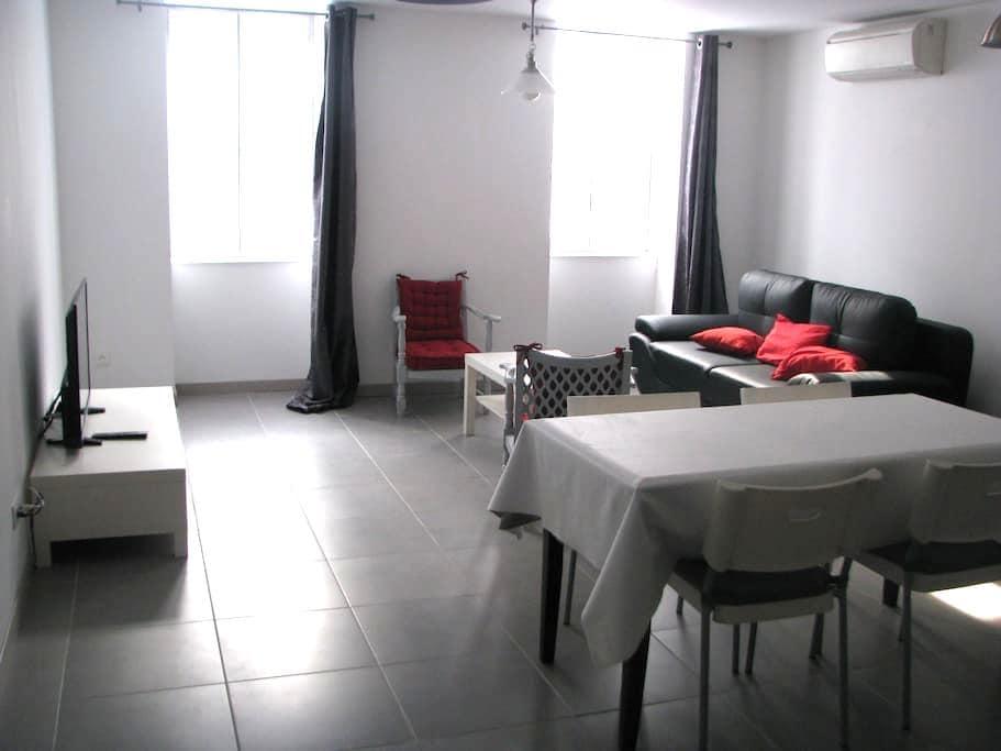 Location appartement grand confort entier. - Pont-de-Vaux - Apartment