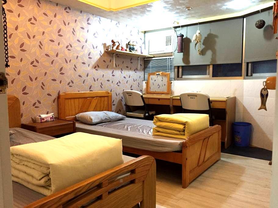 天母住宅區私人房間 可住2~3人,寧靜安全,臨近天母跳蚤市場。 - 台北市