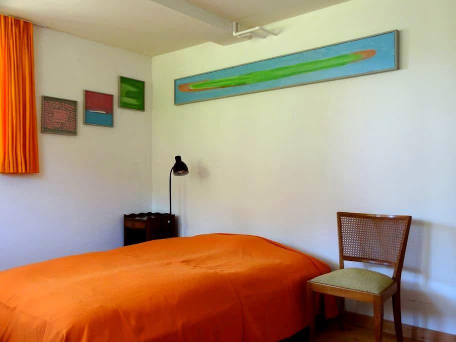 seperates Gästezimmer in Einfamilienhaus - Hilterfingen