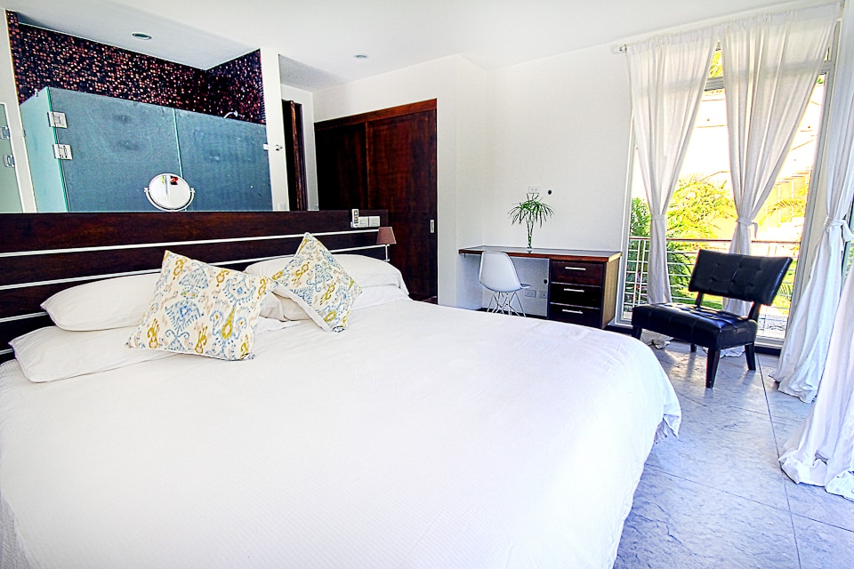 Master Suite - King Size Bed, Highest Quality Linens, Desk and Work Space, Open Concept Suite, Full Custom Closet and AC in each bedroom, Master & Second