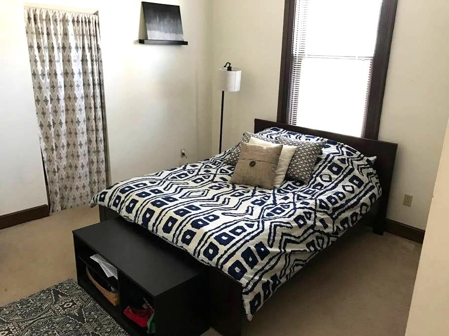 Comfy, quiet downtown apartment - Columbus - Appartement