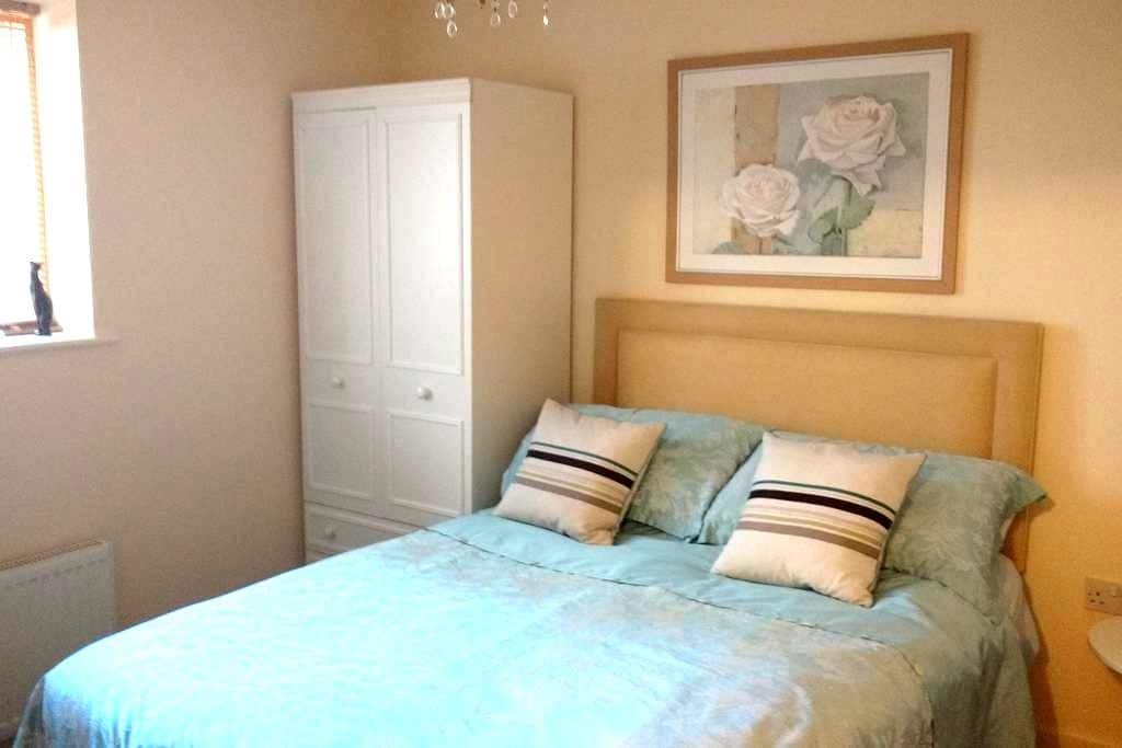 Cozy double room in Bath with kitchen and parking - Bath - Flat