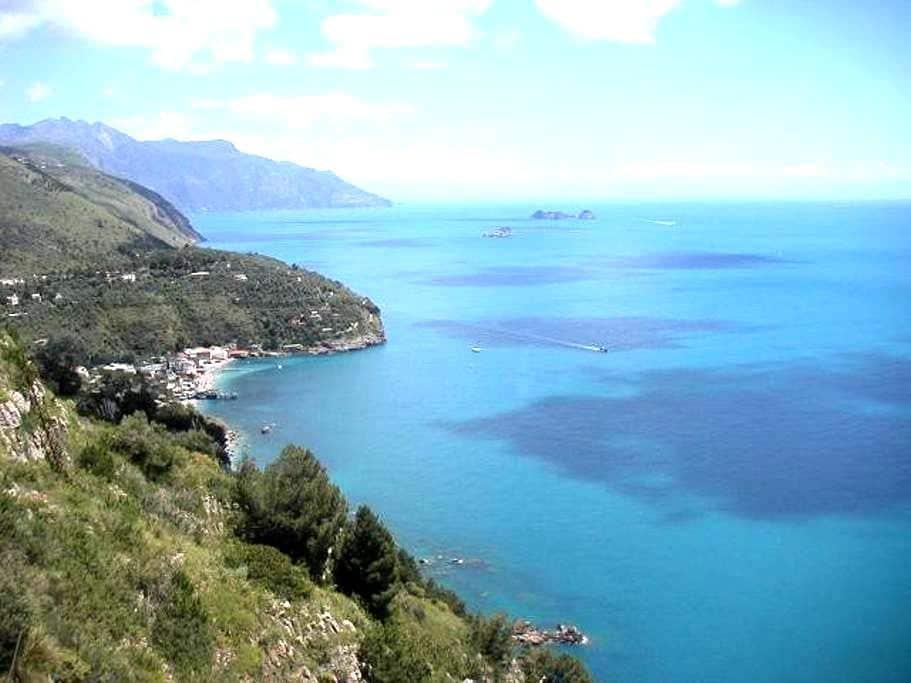 Amalfi coast mobil home on the sea - Nerano - Camping-car/caravane