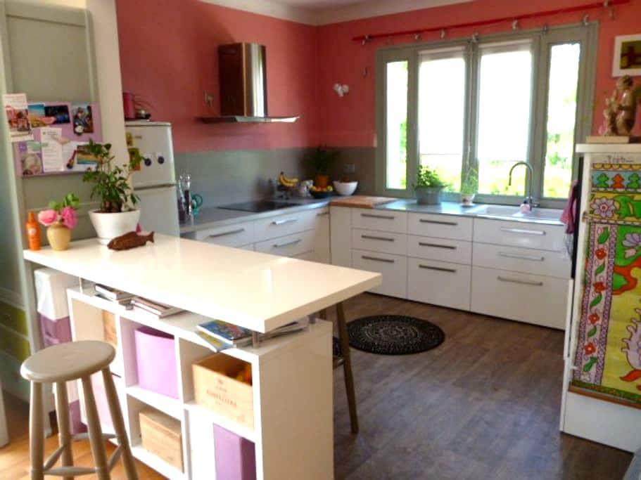 Belle maison spacieuse et lumineuse - Saint-Jean-de-Niost - Hus