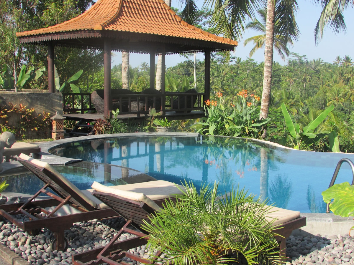 Your own private pool and pondok