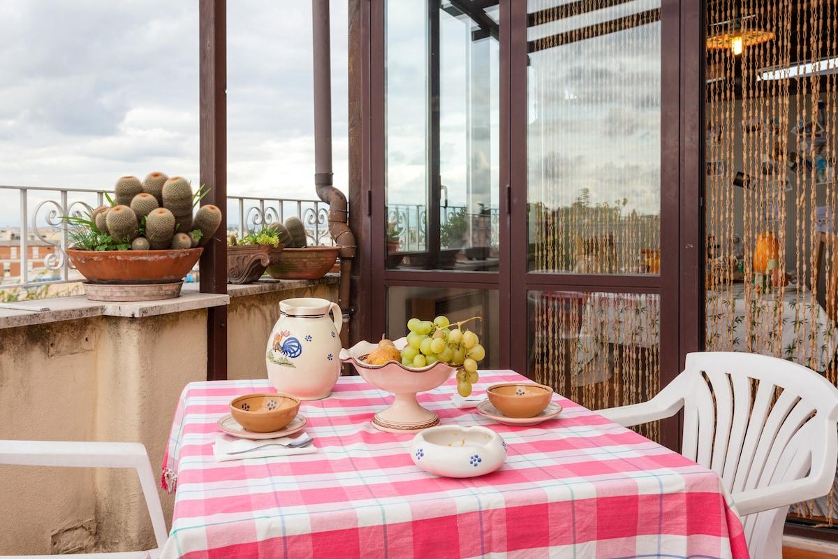 !...Villa Blanc Bed & Breakfast...!