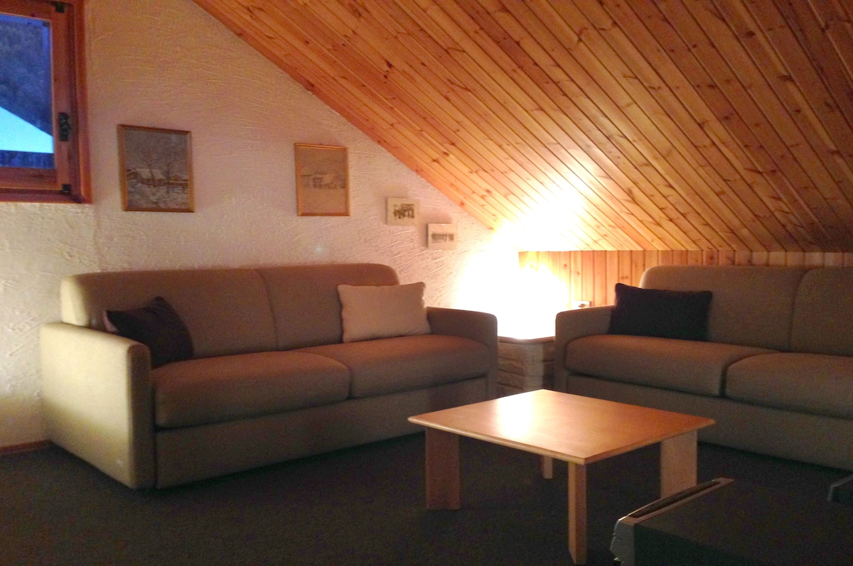 Charming mountain apartment