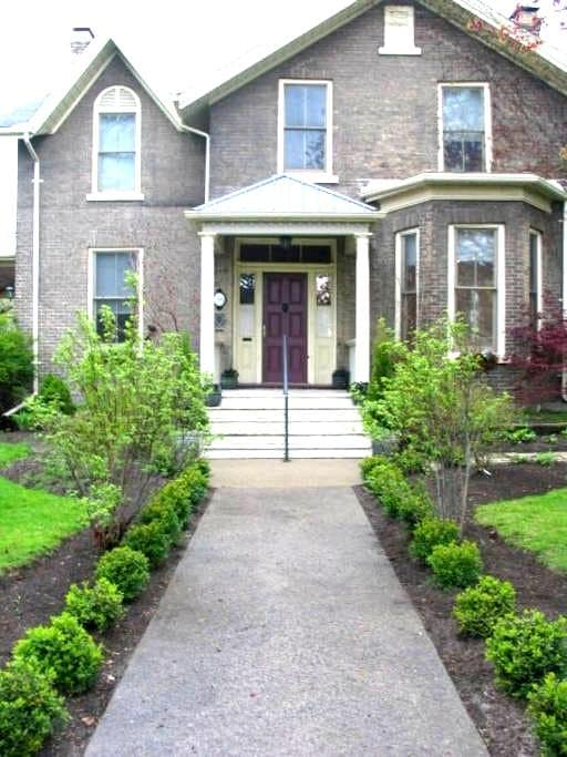 Historic home with heated pool. - Cobourg