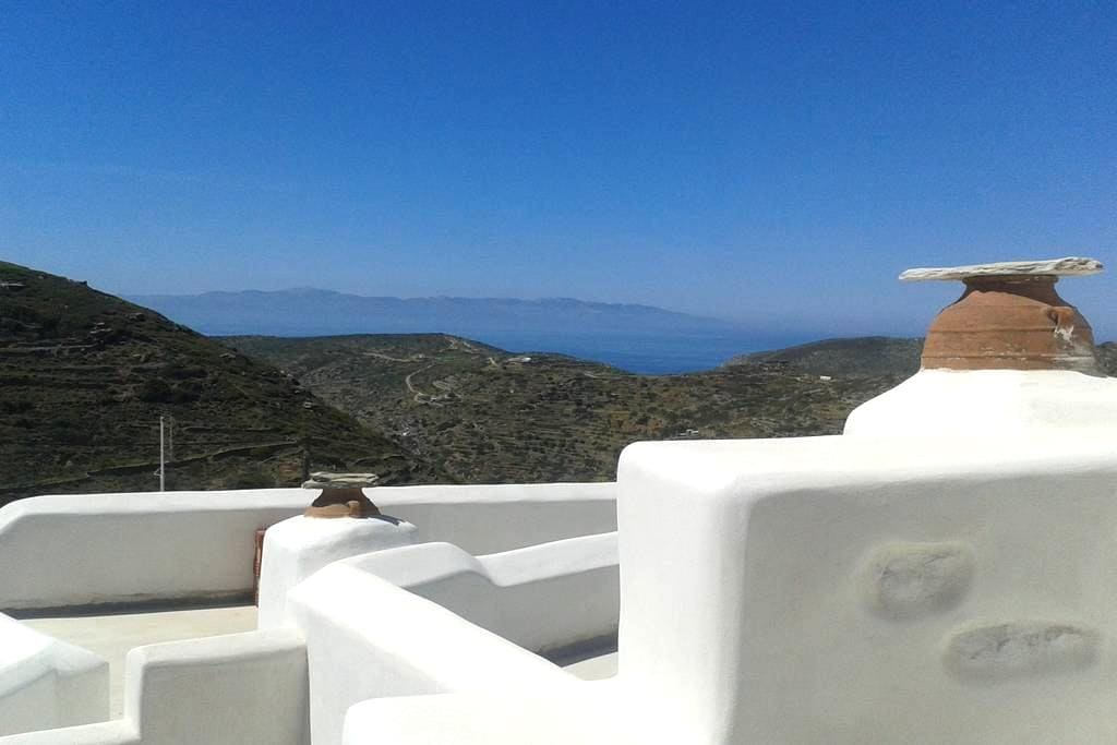 Doukenio-traditional stone house in Chora  Amorgos - Chora - Квартира