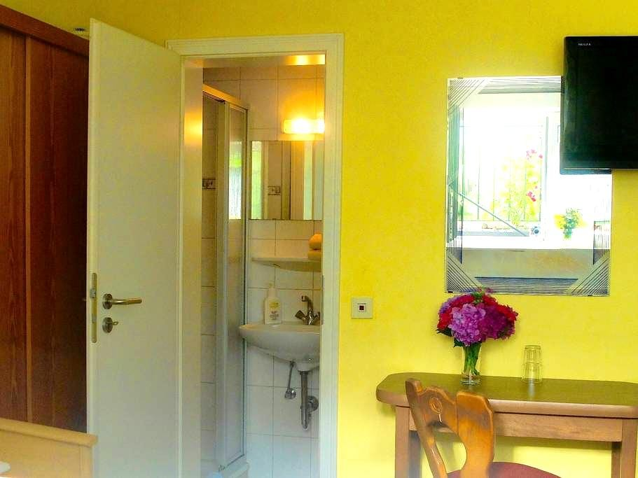 nettes Einzelzimmer mit Dusche und WC - Oberkirch