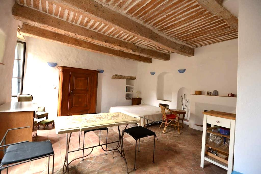 2 sonnige Apartments Provence (F) - Sigonce