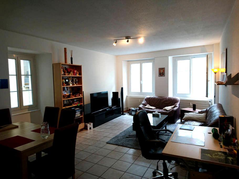 Appartement 2,5 pièces Centre-ville Yverdon - Yverdon-les-Bains - アパート