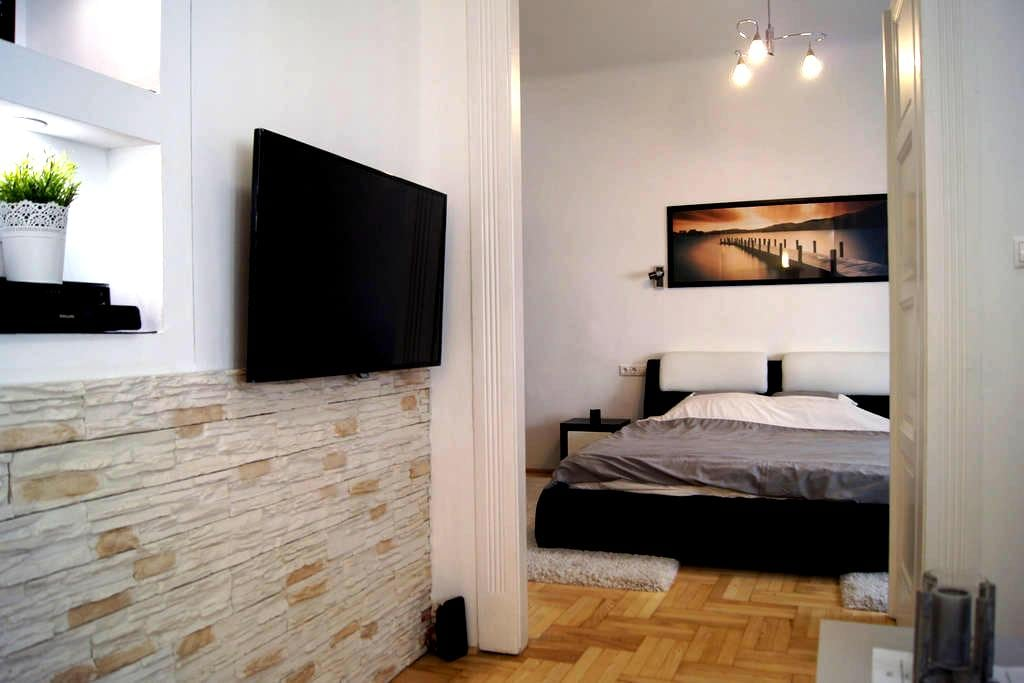 Modern spacious flat in Buda - ブダペスト