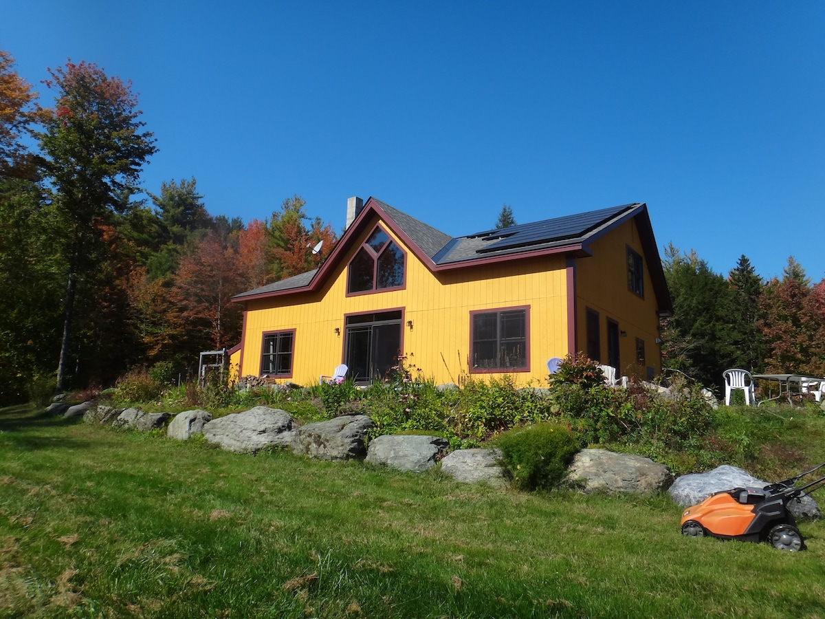 Solar living near skiing and hiking