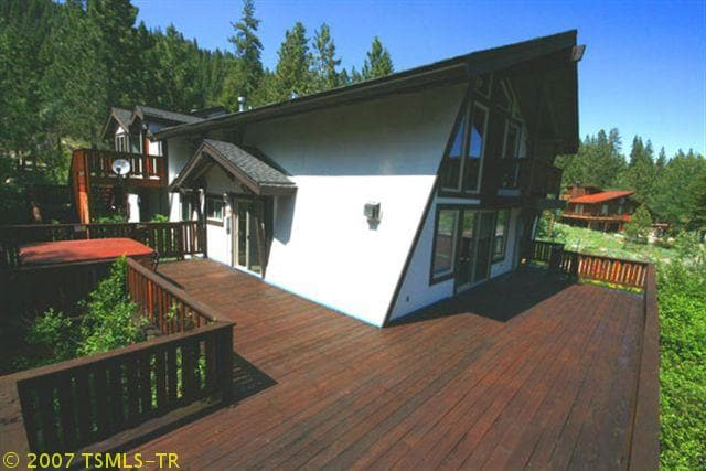 Massive deck and hot tub to enjoy the sun!