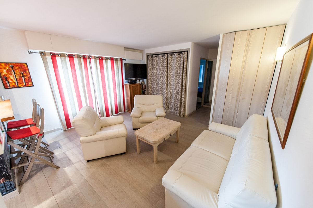 Flat 45 m2 in the real center