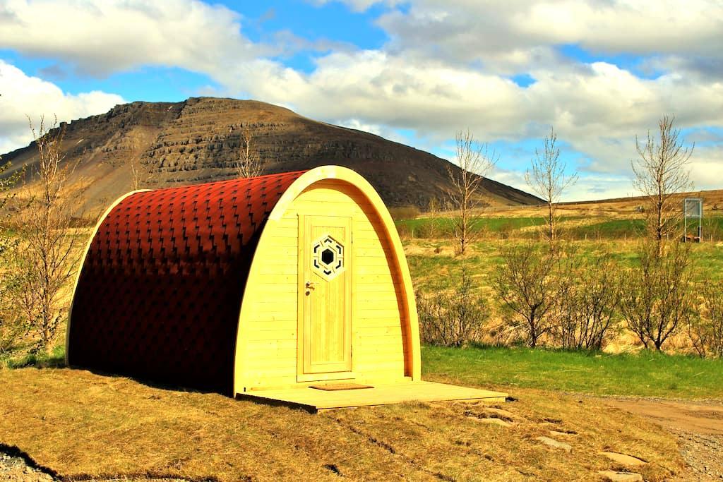 Fossatun Pod 2 - Borgarnes - 小木屋