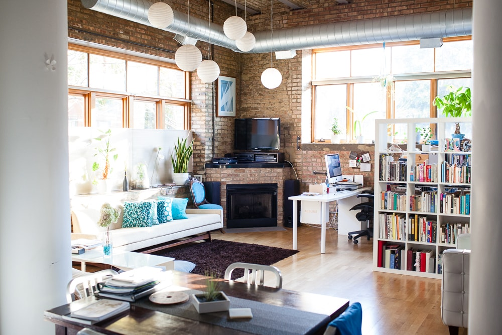 Modern Loft in Converted Icehouse