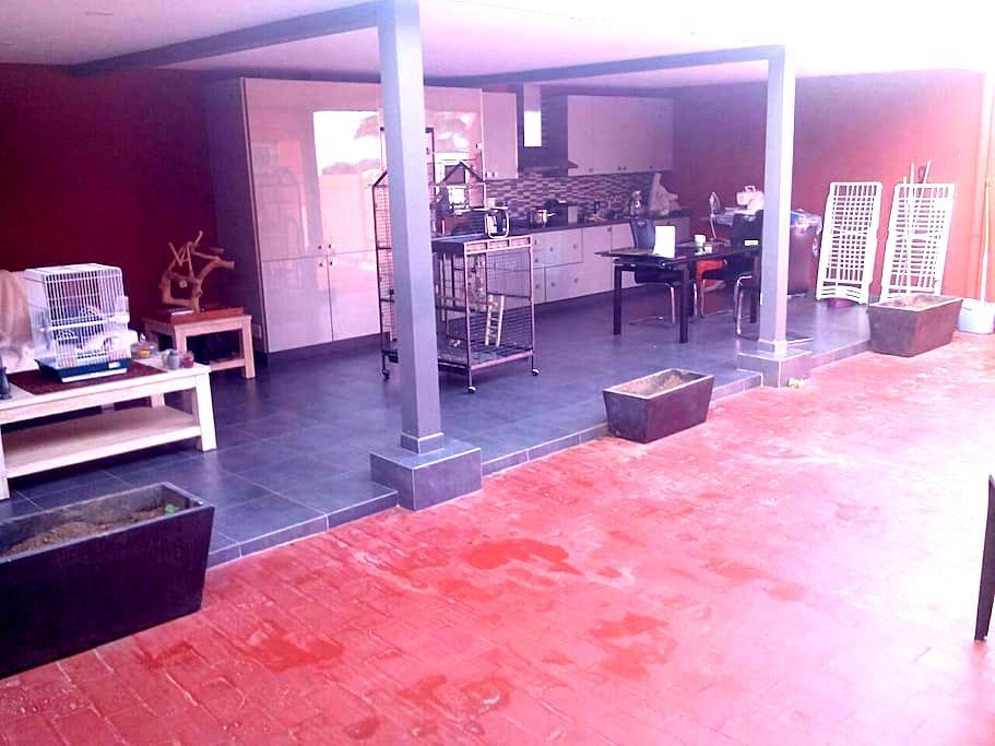 kamer met terras la orotava su casa - La Orotava, Canarias, ES - Haus