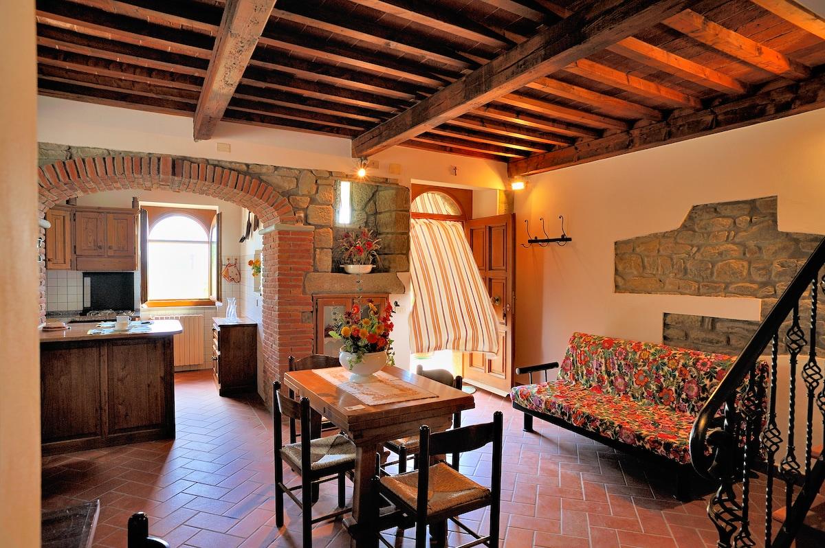 in Tuscany holiday home Noceta