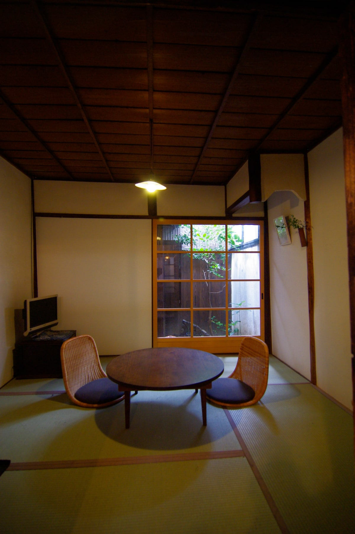 A traditional long house with wi-fi