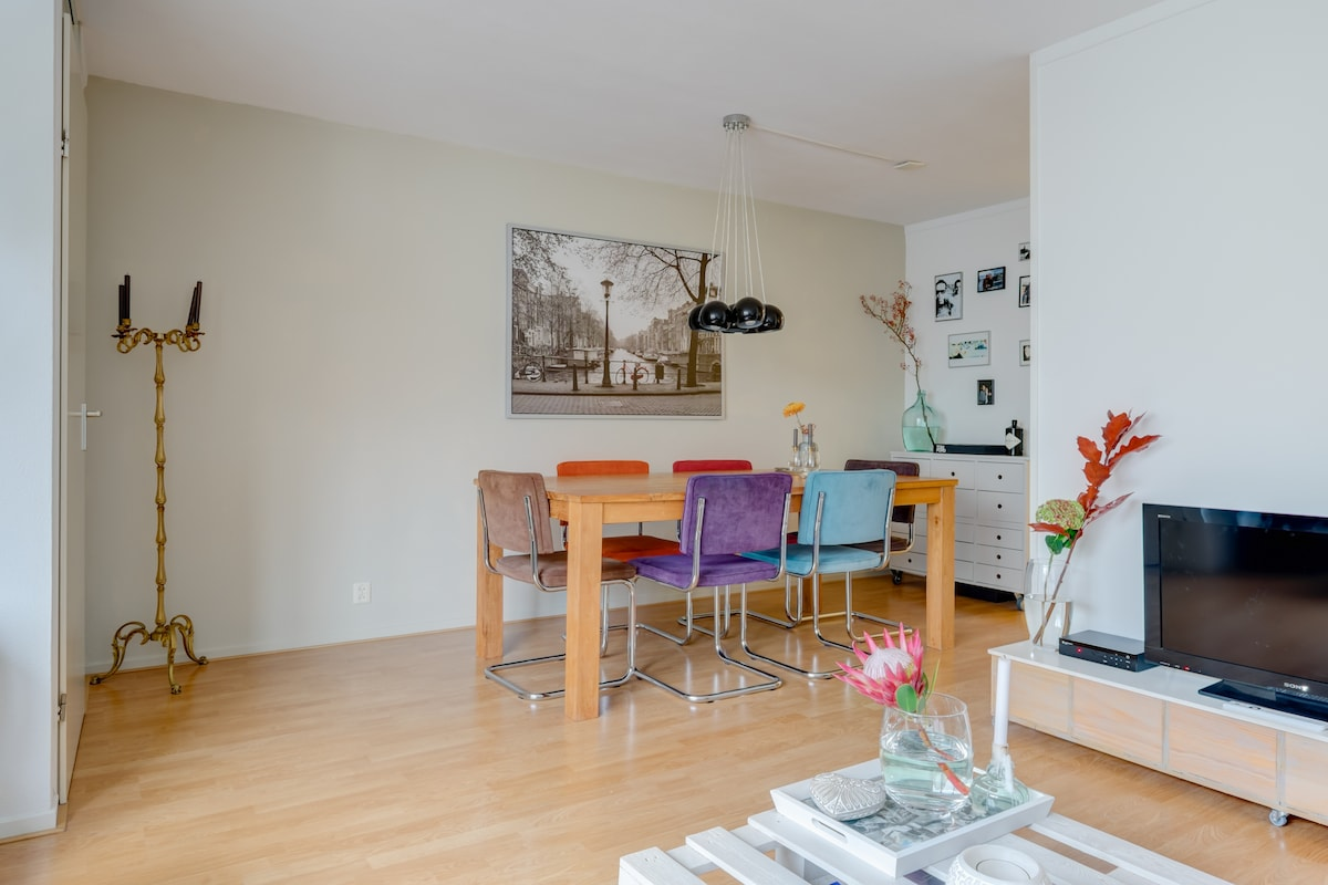 Lovely apartment with roof terrace!