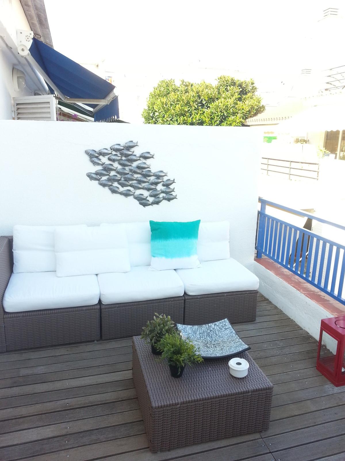Terrasse 1 - lounge