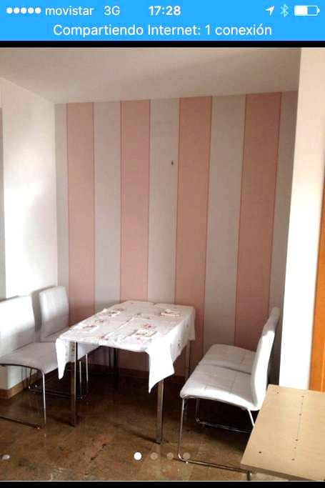 Shabby chic double room - Sabadell - Appartement