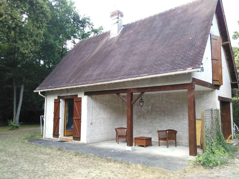 Jolie maison d'amis avec accès jardin et piscine - Lamorlaye