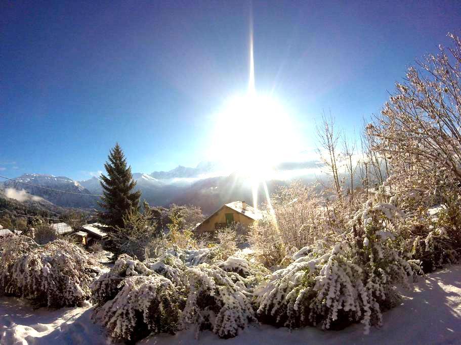 Studio : ''Le petit Chalet'' avec vue Mont Blanc - Passy