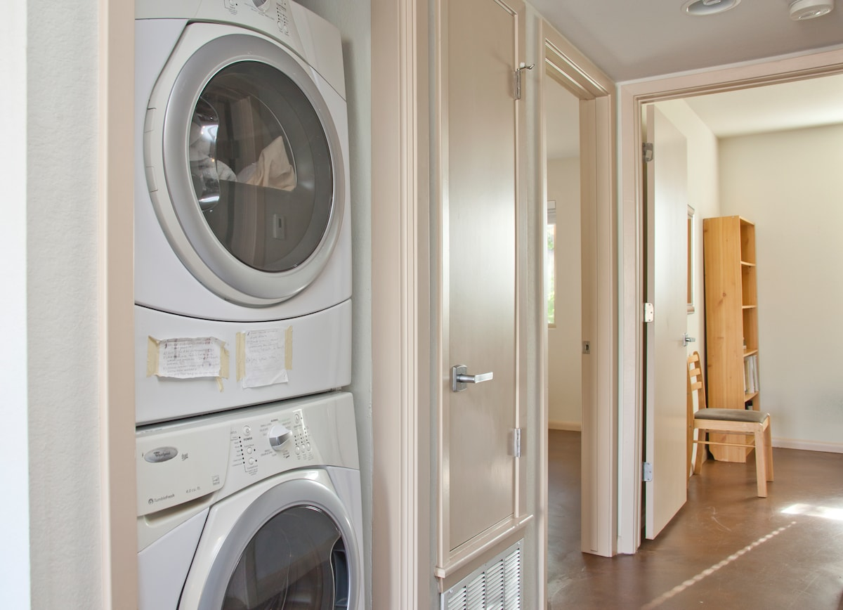 Front loading washer and dryer!!!