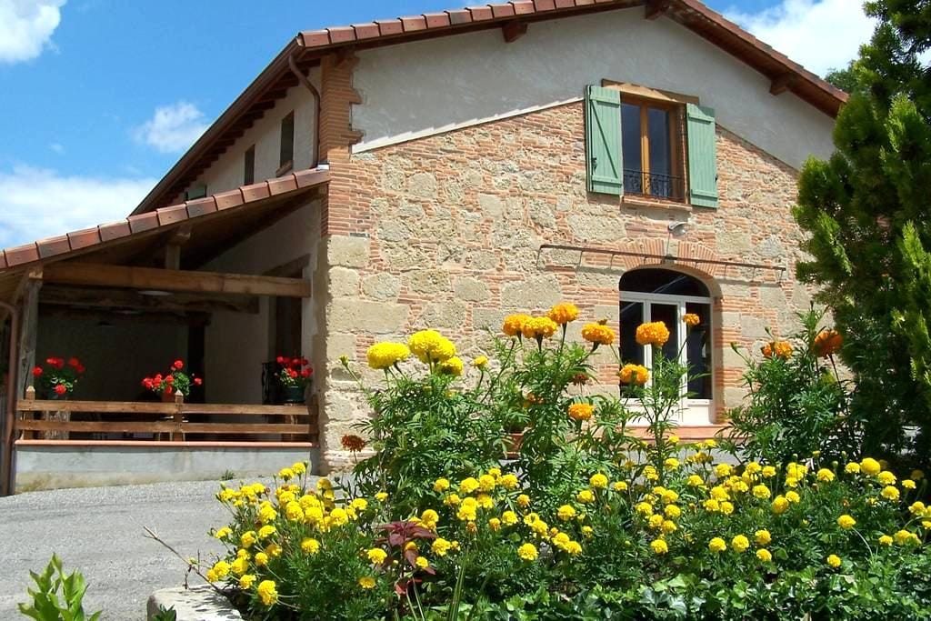 Chambres d'hôtes du moulin d'encor - Seysses-Savès - Penzion (B&B)