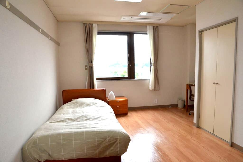 Private room with single bedded  in Ueda - Ueda-shi - 公寓