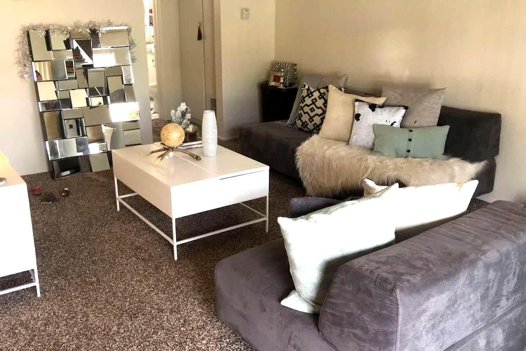 A couch bed in my living room - San Diego  - Apartamento