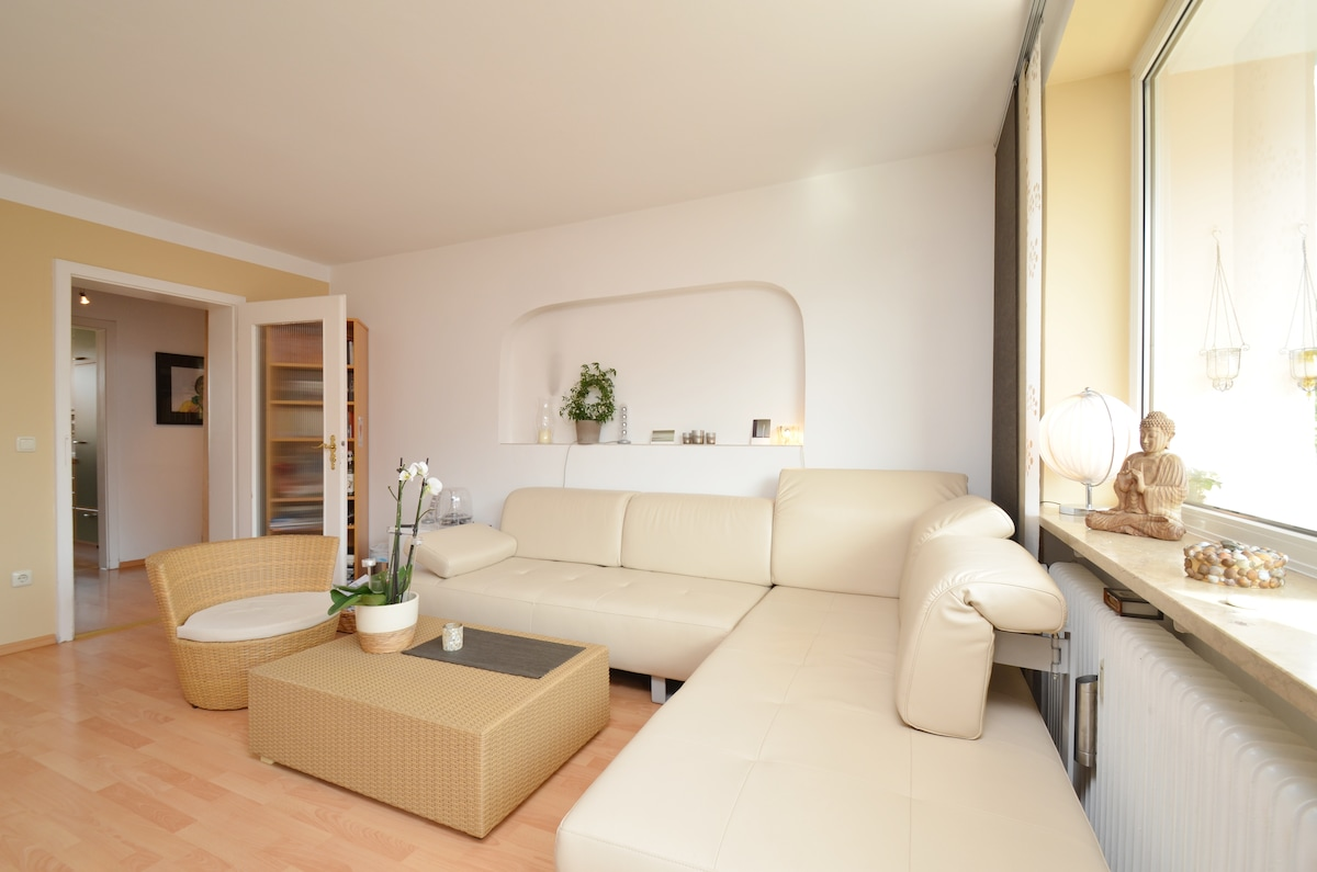 Beautiful large room with balcony