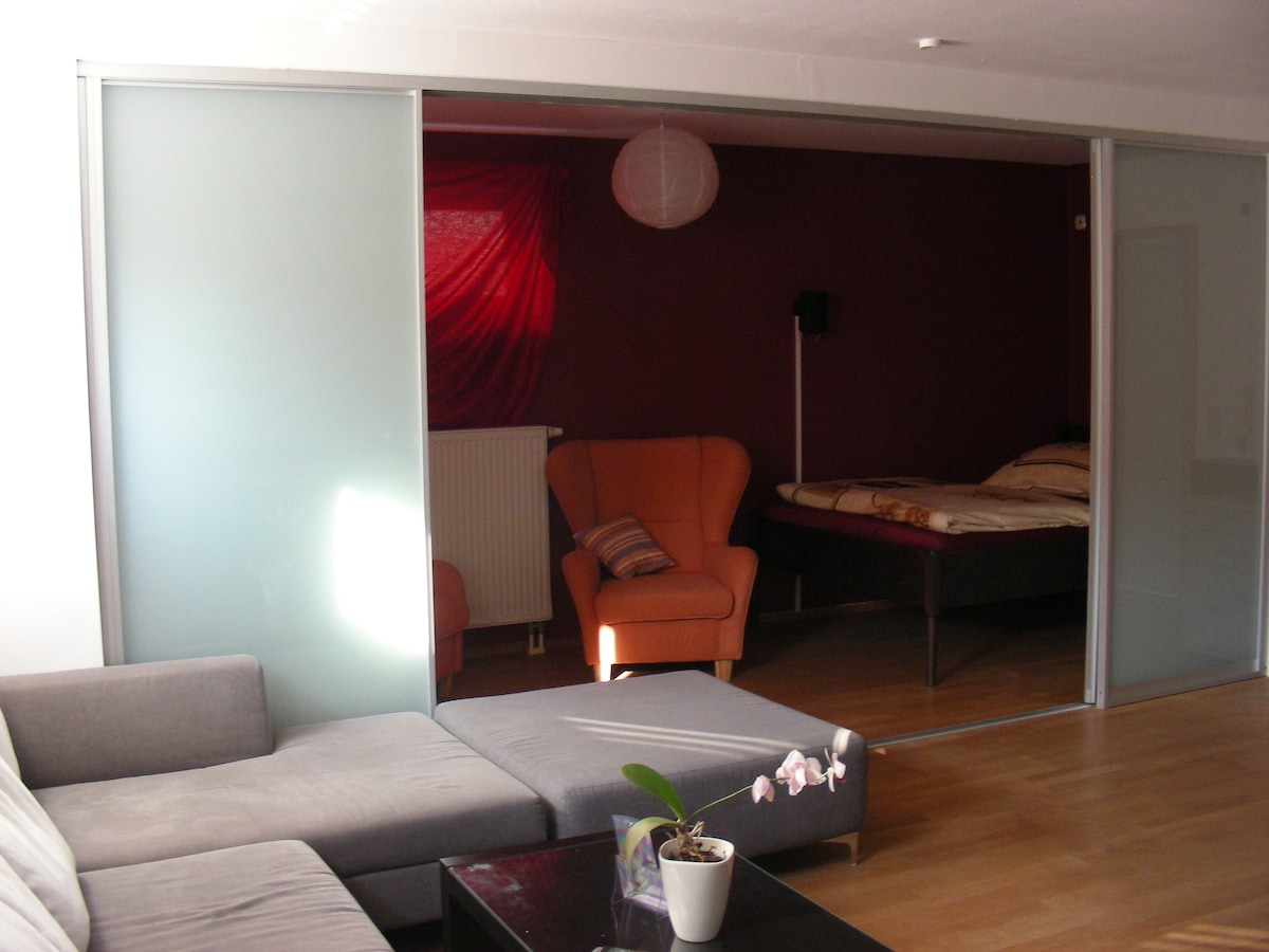 Private cinema for overnight-stay
