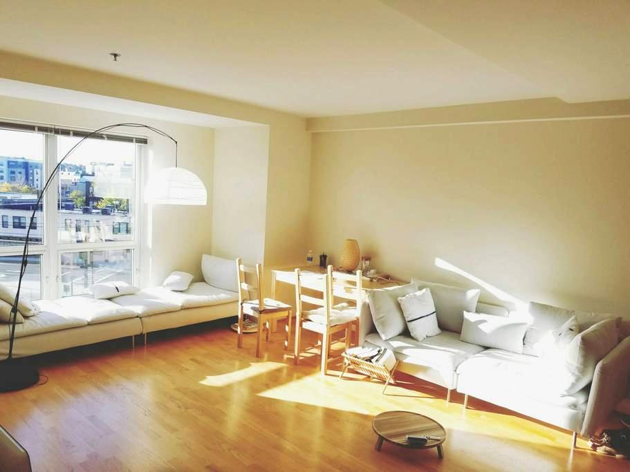 3 mins walk to train + subway - Quincy - Apartamento