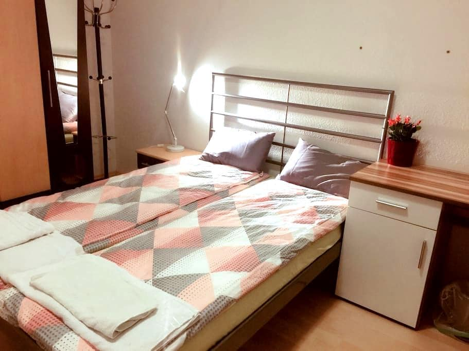 Bright room to feel at home/ free parking area - Vienna